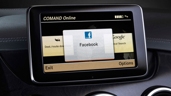 Facebook en Coches
