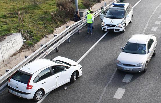 Accidentes de coches en España